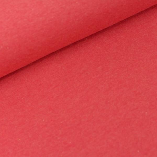 Bilde av Økologisk french terry, grenada (rødmelert)