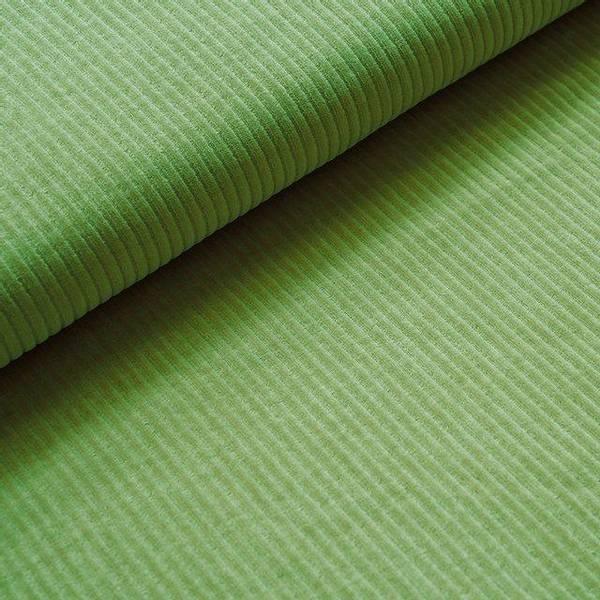 Bilde av Økologisk myk cordfløyel, kiwi