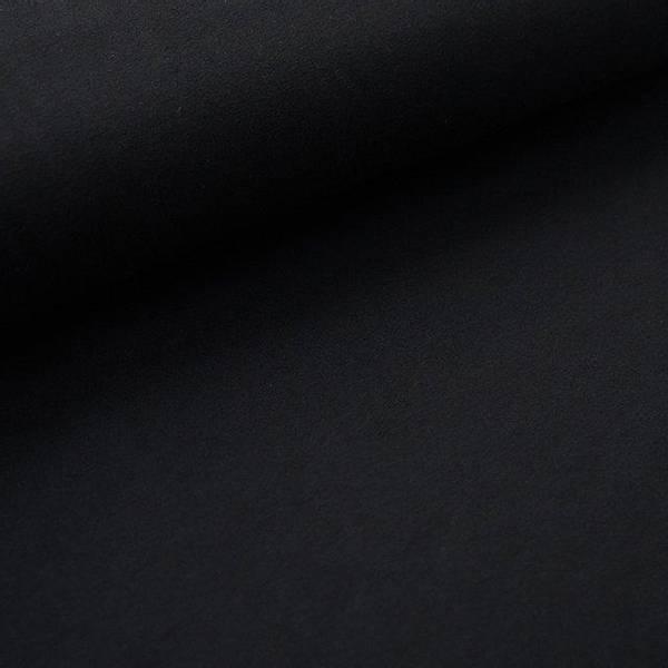 Bilde av Økologisk french terry, svart