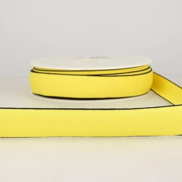 Bilde av Elastisk bånd 2,5cm bredt, gul