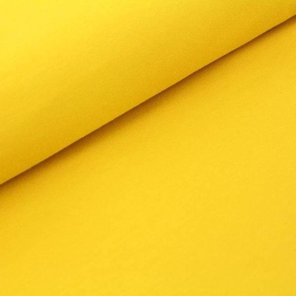Bilde av Økologisk french terry, sennepsgul