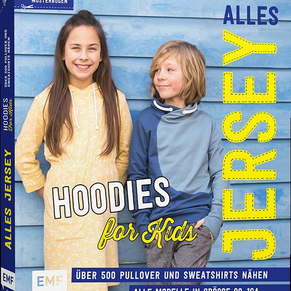 Bilde av Mønsterbok, Alles jersey, Hoodies for kids