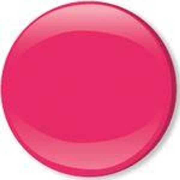 Bilde av Metalltrykknapper m/kappe rosa