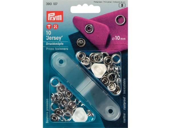 Bilde av Prym metalltrykknapper 10mm, med verktøy