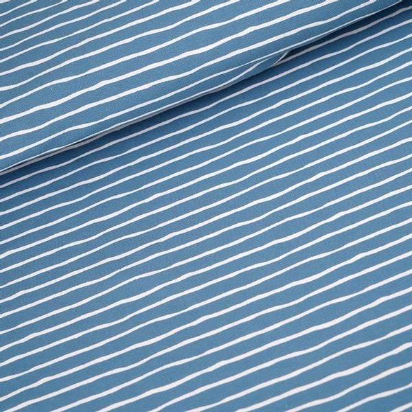 Bilde av Økologisk jersey, good vibes, beach house blue