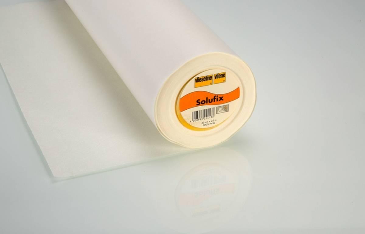 Solufix selvklebende, vannløselig stabiliser