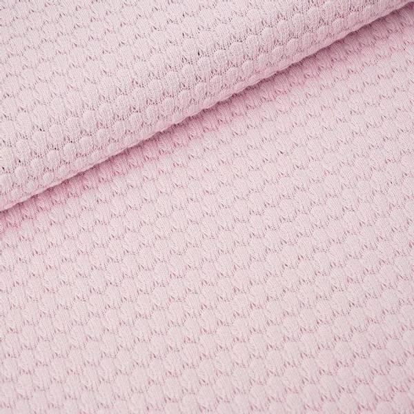 Bilde av Økologisk bomullsstrikk, bubbles sart rosa